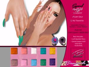 Beautitude Elegant1 Liquid Squared Nails AD