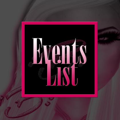 Beautitude LOGO March 2015 EVENT LIST