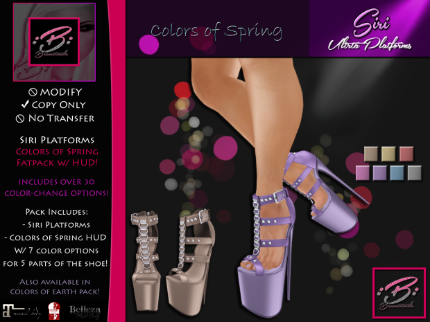 Beautitude Siri Platforms AD Official COSpring