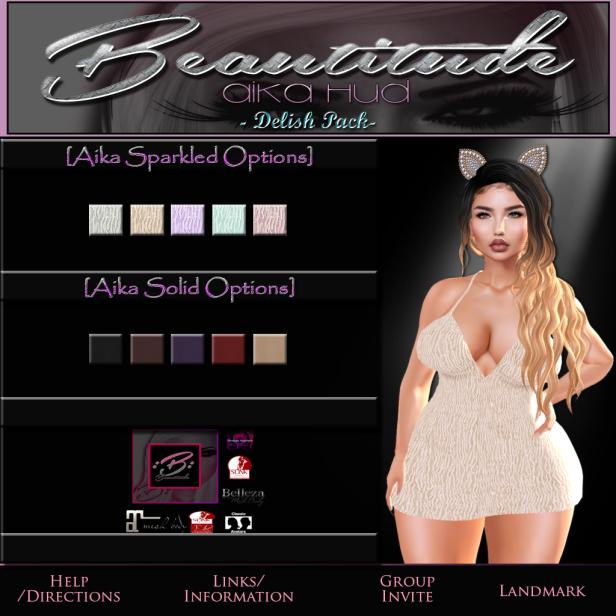 Beautitude's Aika Mini Dress HUD