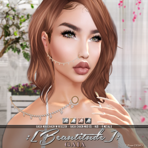 Beautitude's Gaia Nose Chain AD #2